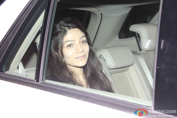 Sana Pancholi at Yash Raj Studio