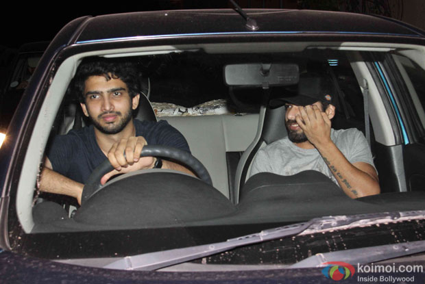 Amaal Mallik at Yash Raj Studio