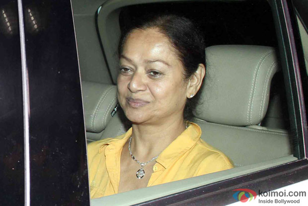 zarina wahab at Yash Raj Studio