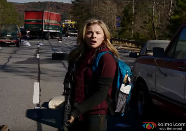Chloe Grace Moretz in a still from movie 'The 5th Wave'