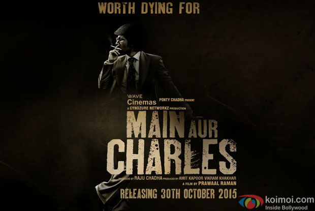 Randeep Hooda in a still from Motion poster of 'Main Aur Charles'