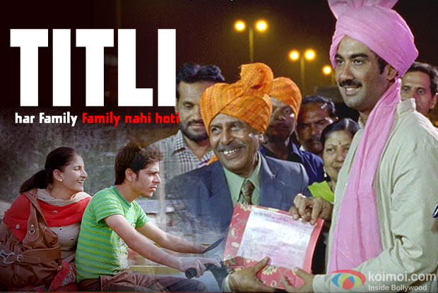 Shivani Raghuvanshi, Shashank Arora and Ranvir Shorey in still from movie TITLI