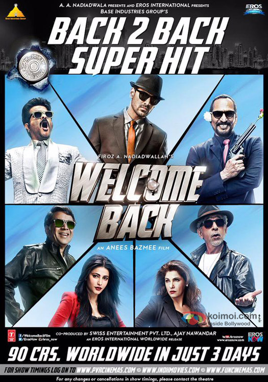 Welcome Back (2015) (MUSIC VIDEO ALBUM) Untouched – BD50 DTS-HDMA 5.1 ESuBS By-TeaM DuS | G- Drive |