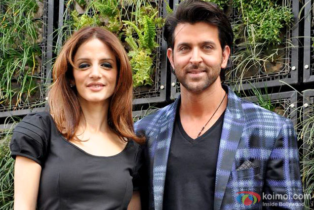 Sussane Khan and Hrithik Roshan