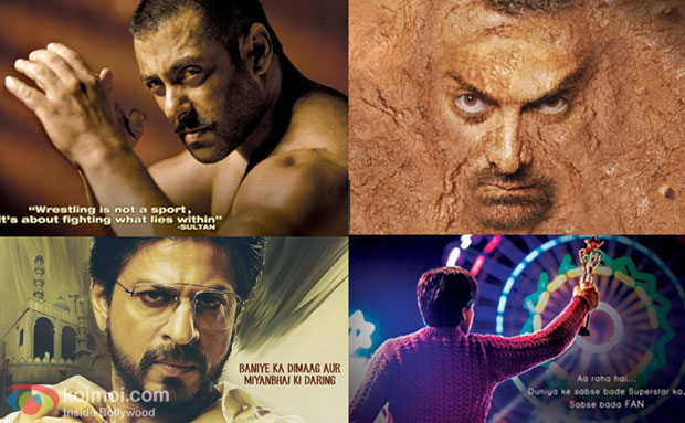 2016 Khan Storm : Sultan, Fan, Raees Or Dangal ; Who Rocked The First Look?