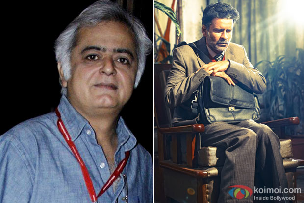 Hansal Mehta and Manoj Bajpayee