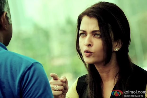 Aishwarya Rai Bachchan in a still from 'Jazbaa'