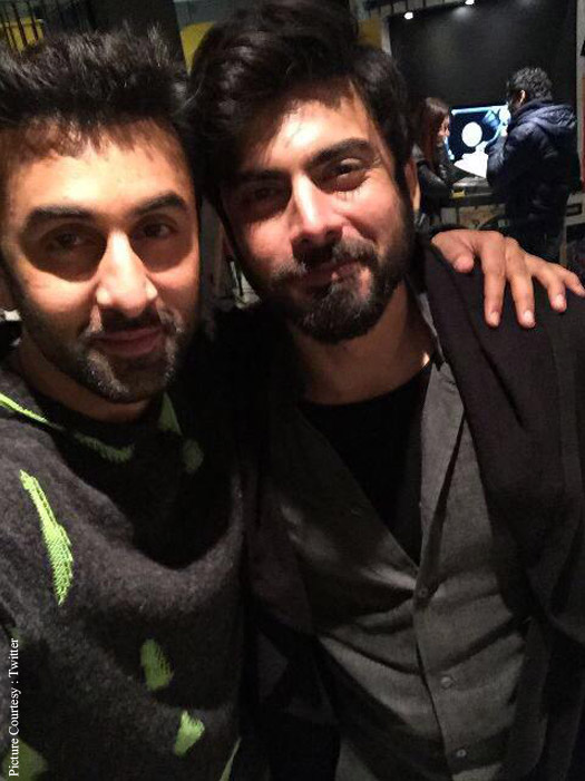 Ranbir Kapoor And Fawad Khan On The Sets Of Ae Dil Hai Mushkil