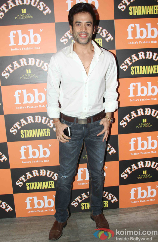 Tushar kapoor at Launch of Stardust Starmaker in Mumbai