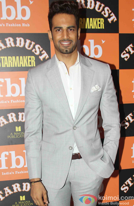 Upen Patel at Launch of Stardust Starmaker in Mumbai
