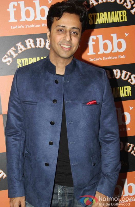 Salim Marchant at Launch of Stardust Starmaker in Mumbai