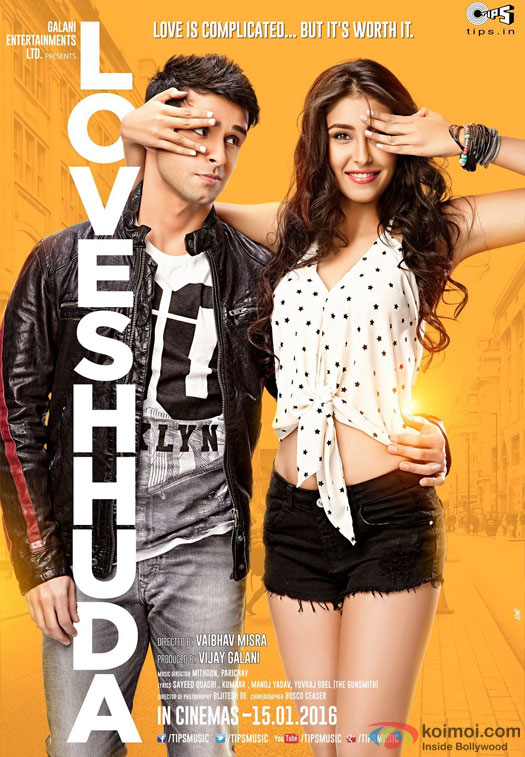 Girish Kumar and Navneet Kaur Dhillon starrer LoveShhuda Movie Poster 2