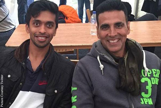 Akshay kumar on the sets of Housefull 3