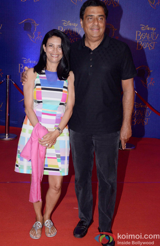 at the premier of Disney India's stage musical 'Beauty and the Beast'