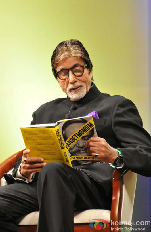 Amitabh bachchan during the book launch