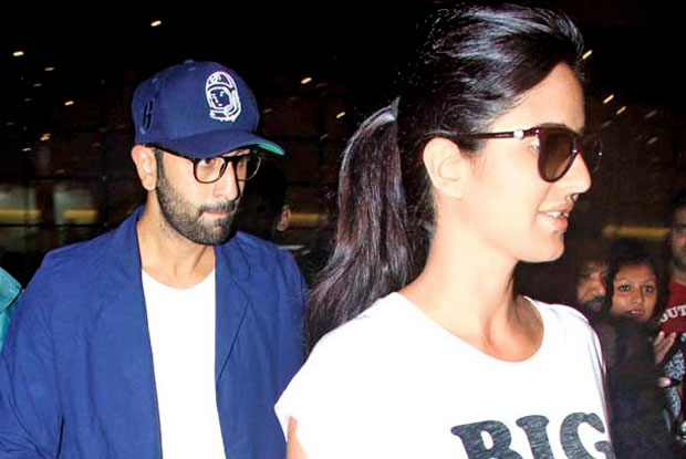 Snapped : Ranbir KApoor and Katrina Kaif Spending Quality Time On Vienna Streets