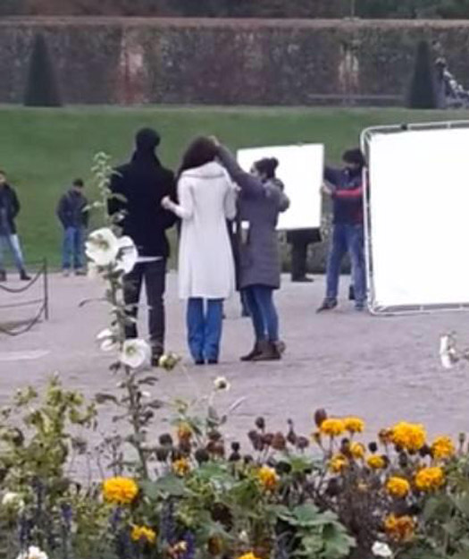 Ranbir Kapoor And Aishwarya Rai Bachchan On The Sets Of Ae Dil Hai Mushkil