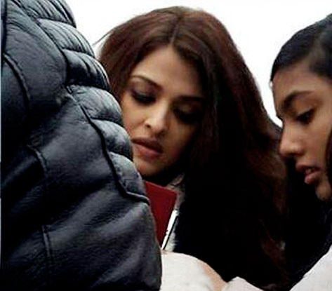 Aishwarya Rai Bachchan On The Sets Of Ae Dil Hai Mushkil
