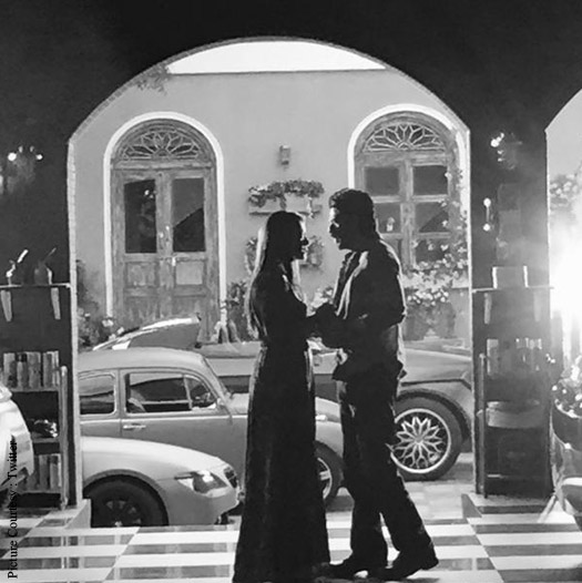 Kajol and Shah Rukh Khan in a still from 'Dilwale'