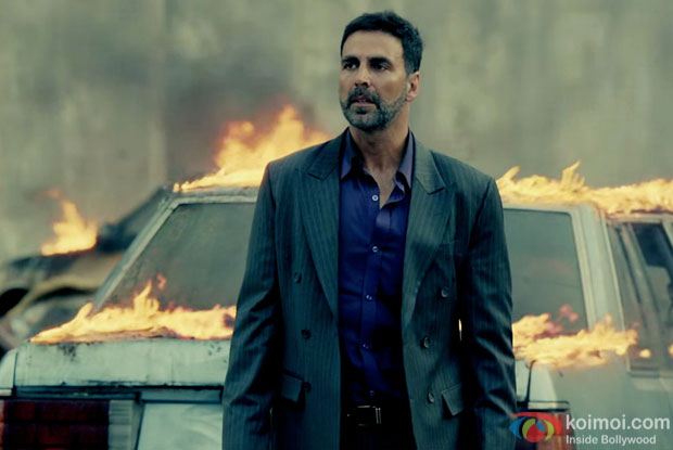 Akshay Kumar in a still from 'Airlift'
