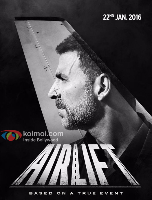 Akshay Kumar's First look of Airlift