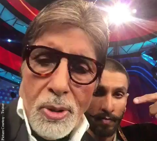 Amitabh Bachchan Mouths Ranveer Singh's dialogue From 'Bajirao Mastani'