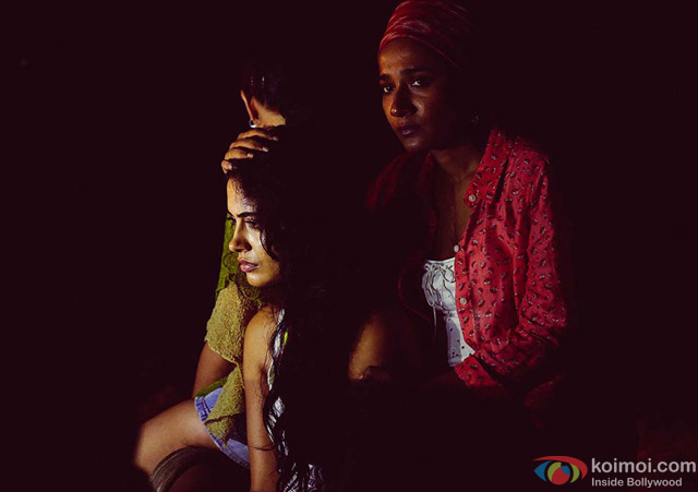 Sarah Jane Dias and Tannishtha Chatterjee in 'Angry Indian Goddesses' Movie Stills Pic 1