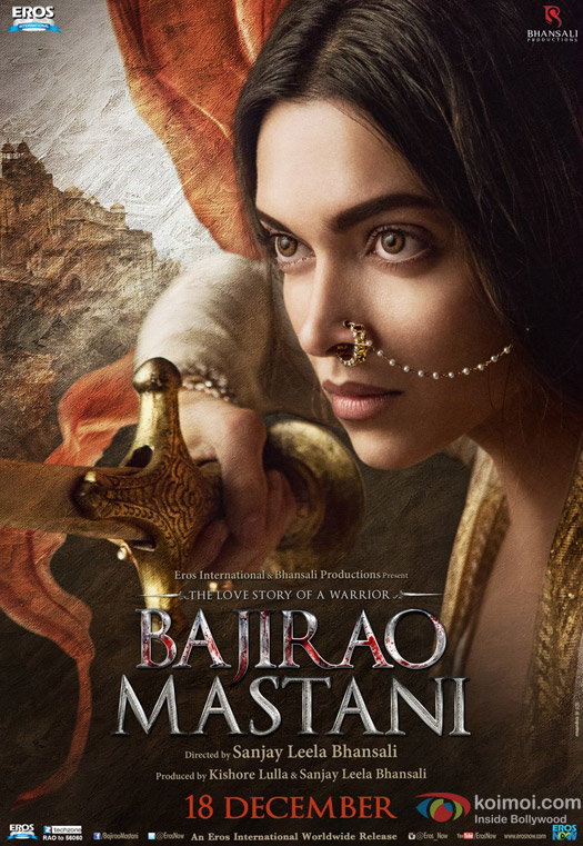 Deepika Padukone in a 'Bajirao Mastani' Movie Poster 1