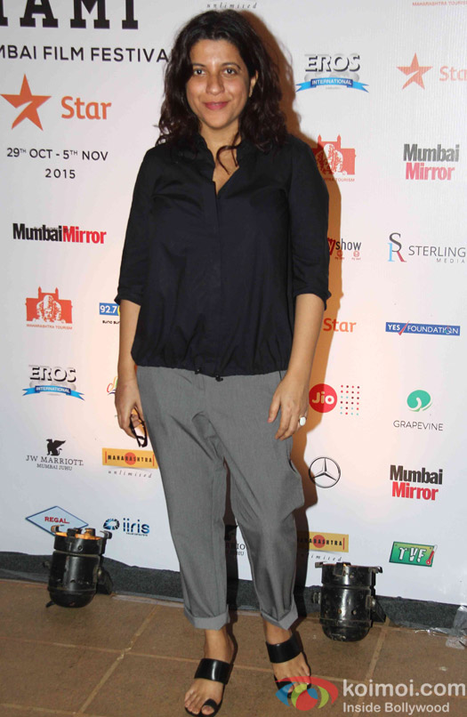 Zoya Akhtar during the closing ceremony of Jio MAMI 17th Mumbai Film Festival