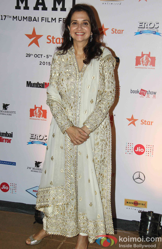 Anupama Chopra during the closing ceremony of Jio MAMI 17th Mumbai Film Festival