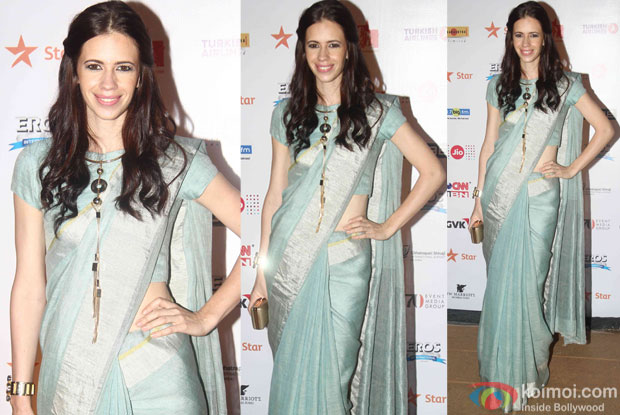 Kalki Koechlin during the closing ceremony of Jio MAMI 17th Mumbai Film Festival
