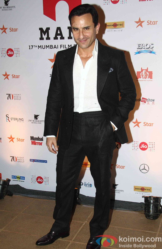 Saif Ali Khan during the closing ceremony of Jio MAMI 17th Mumbai Film Festival