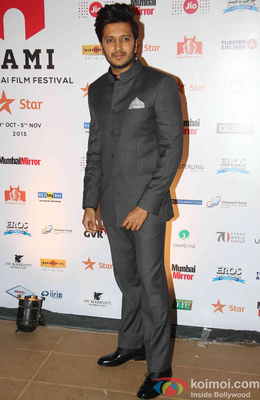 Ritesh Deshmukh during the closin ceremony of Jio MAMI 17th Mumbai Film Festival