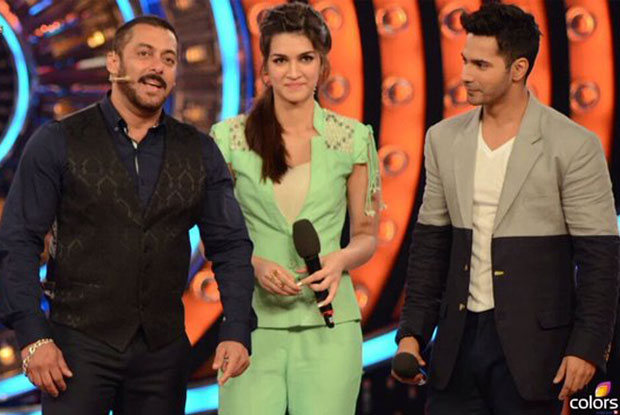 Salman Khan Have A Fun Time With Varun & Kriti