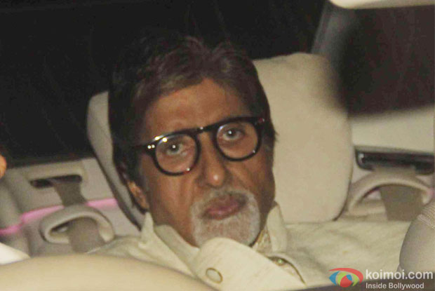 Amitabh Bachchan attend Akshay Kumar's Diwali party