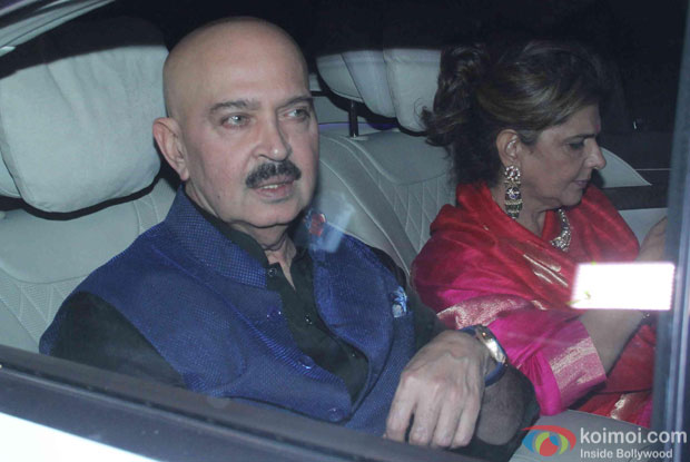 Rakesh Roshan attend Akshay Kumar's Diwali party