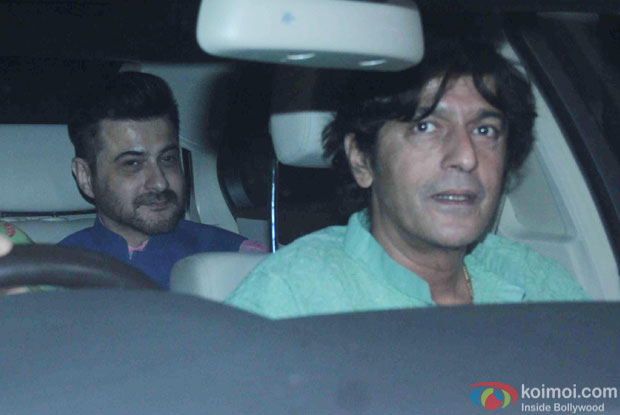 Chunky Pandey attend Akshay Kumar's Diwali party