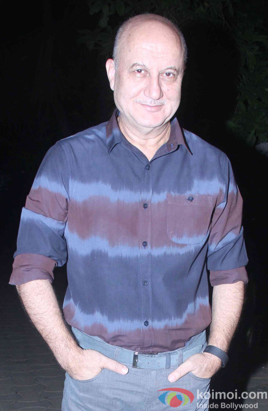 Anupam Kher attend Akshay Kumar's Diwali party