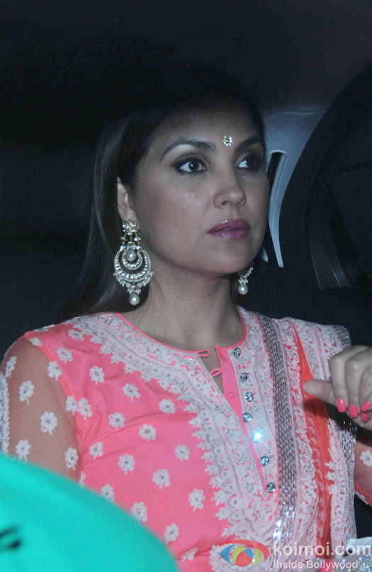 Lara Dutta attend Akshay Kumar's Diwali party