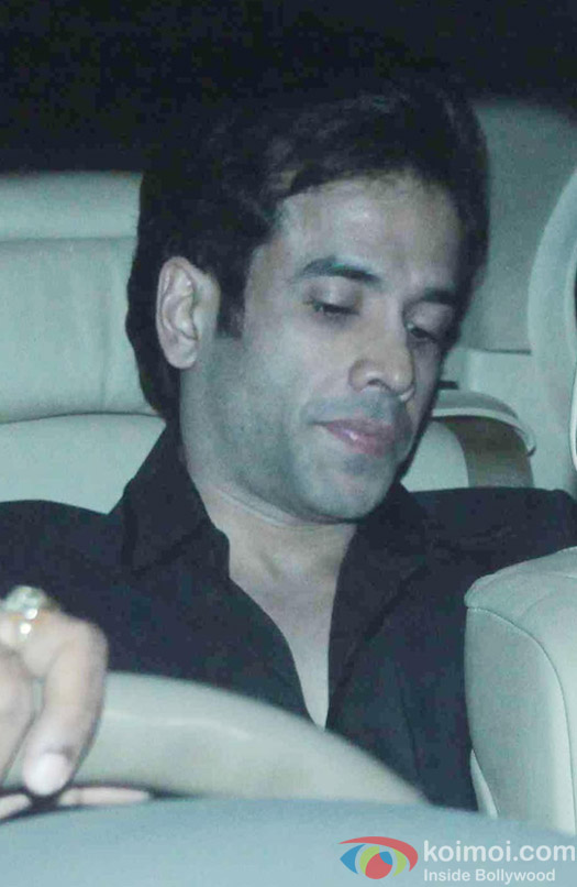 Tushar Kapoor attend Akshay Kumar's Diwali party