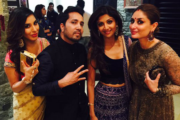 Mikka Singh, Sophie Choudry and Kareena Kapoor Khan attended Shilpa Shetty's Diwali party