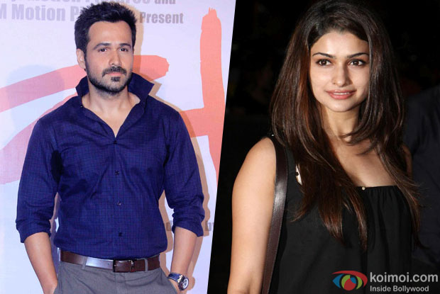 Emraan shoots romantic song with Prachi for 'Azhar'
