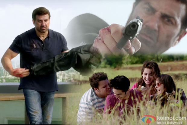 Sunny Deol in a still from 'Ghayal Once Again'