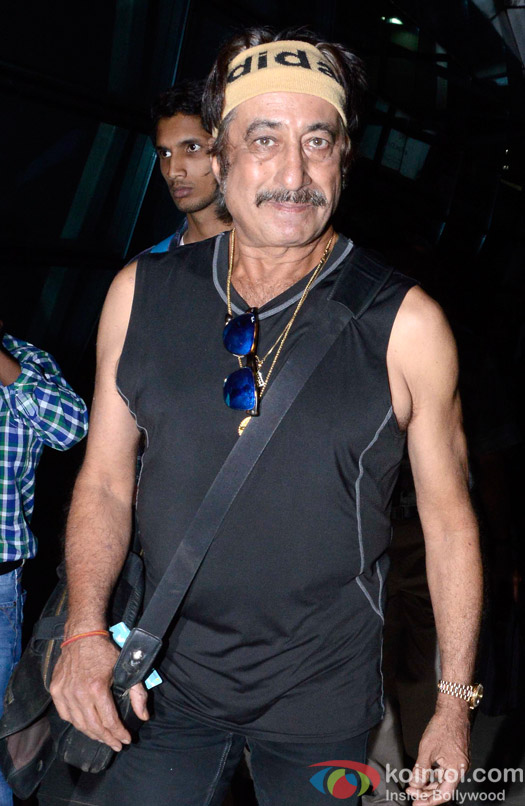shakti Kapoor Spotted At Airport