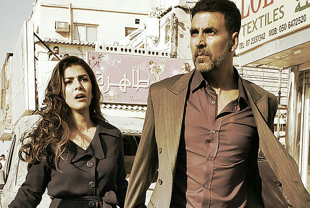Nimrat Kaur And Akshay Kumar In Stills From Movie Airlift