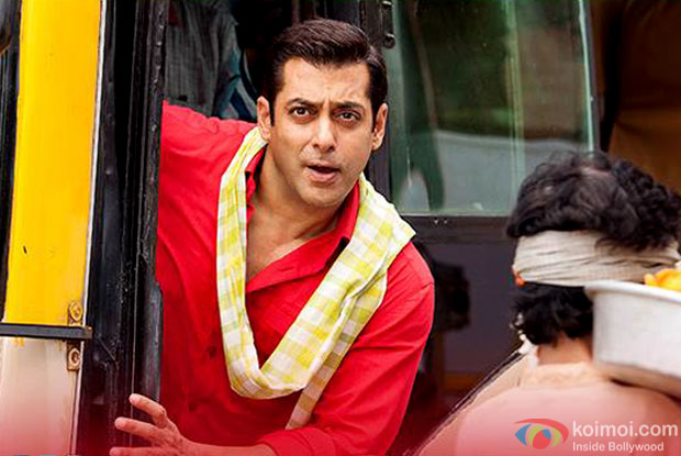 Salman Khan in a still from 'Prem Ratan Dhan Payo'