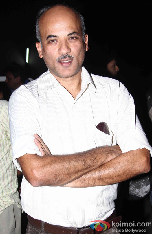 Sooraj Barjatya during the promotion of film Prem Ratan Dhan Payo