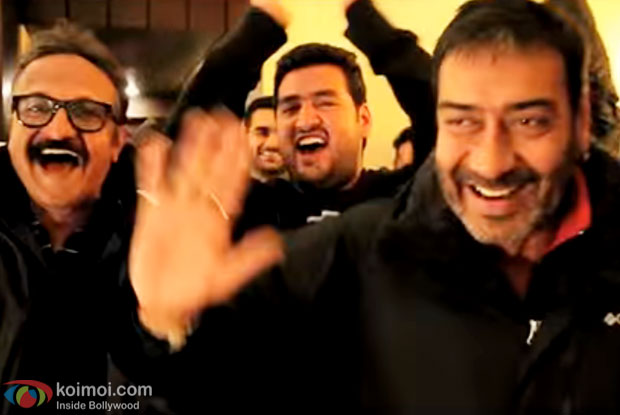 Ajay Devgn & the Shivaay team wishes a 'Cracking' Diwali!
