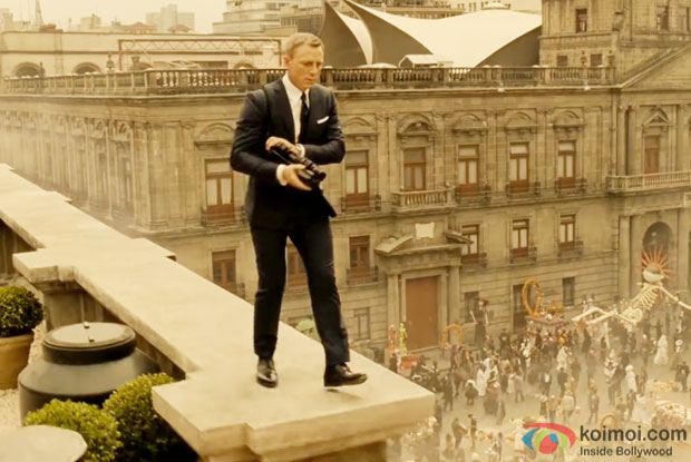 Daniel Craig in a still from 'Spectre'
