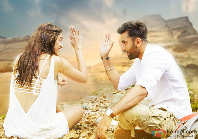 Deepika Padukone and Ranbir Kapoor in a still from movie 'Tamasha'